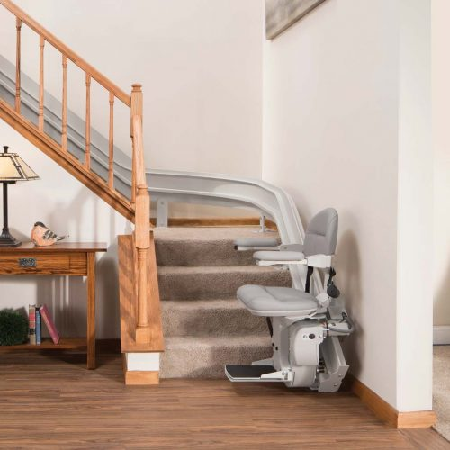 Bruno Elite Indoor Curved CRE-2110 Stairlift