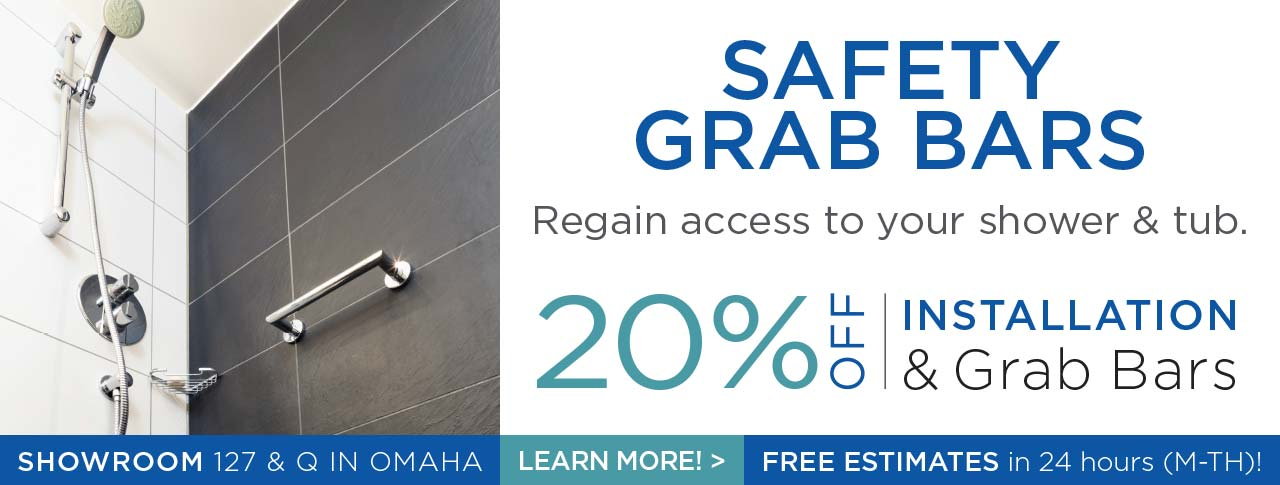 20% OFF Grab Bars and Installation from Kohll's Rx