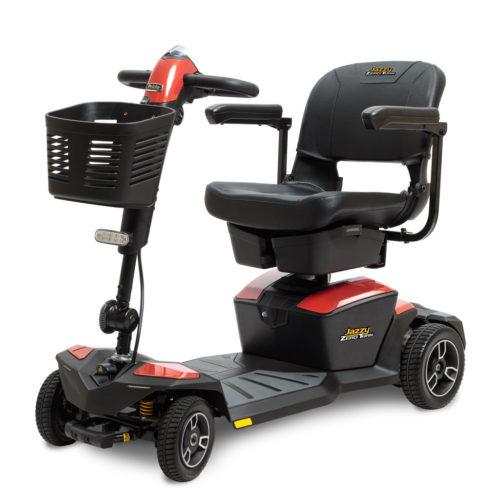 Jazzy® Zero Turn 4-Wheel Electric Scooter