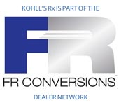 Kohll's Rx is part of the FR Conversions dealer network.
