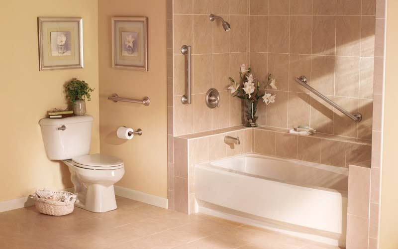 Improve bathroom safety and accessibility with grab bars from Kohll's