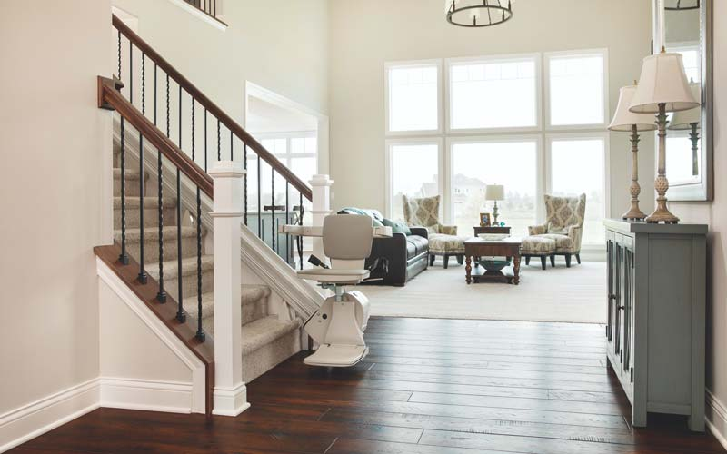 Improve home safety and accessibility with a stair lift from Kohll's