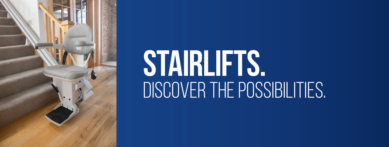 Stairlifts - Discover the Possibilities.