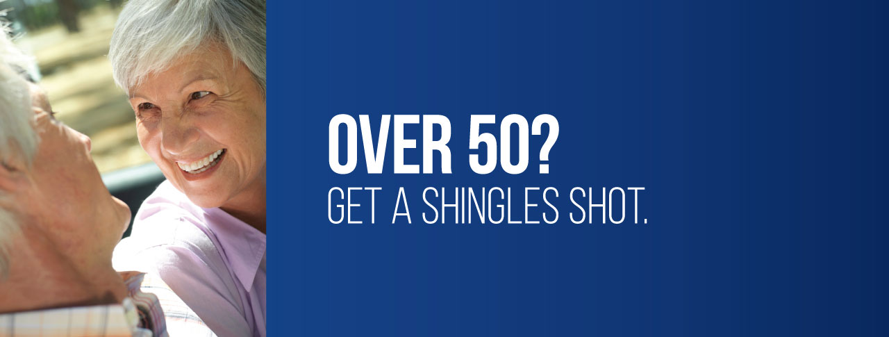Over 50? Get a Shingles Shot today at Kohll's Rx