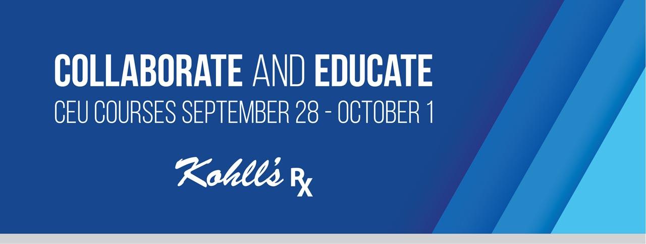 Kohll's Rx CEU Courses 2021