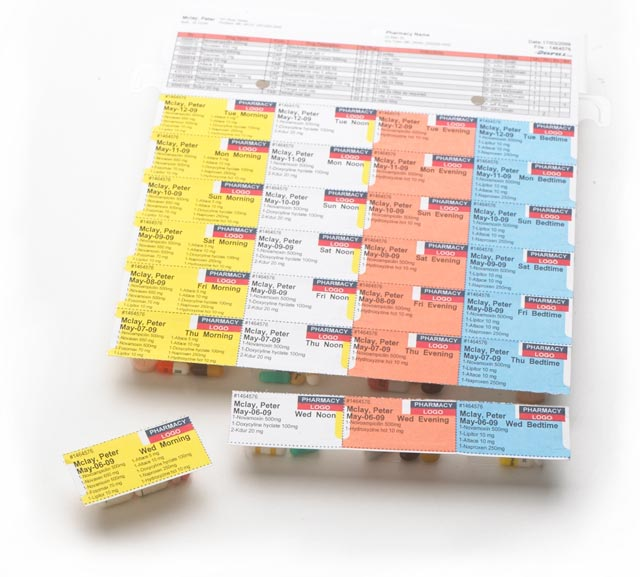 Kohll's Rx Pharmaceutical Packaging